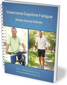 Ebook cover: Overcome Daytime Fatigue: Sleep Apnia Edition