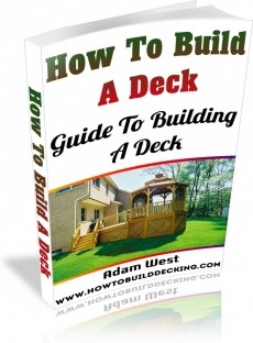 Ebook cover: How To Build A Deck