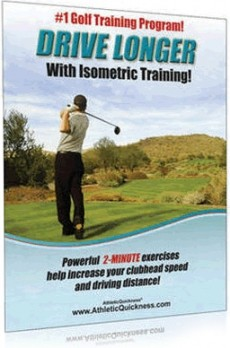 Ebook cover: Golf Training: Drive Longer With Isometric Training!
