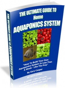 Ebook cover: The Ultimate Guide to Home Aquaponics System