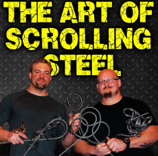 Ebook cover: The Art of Scolling Steel