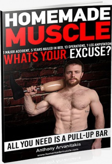 Ebook cover: Homemade Muscles