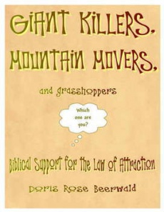 Ebook cover: GIANT KILLERS, MOUNTAIN MOVERS, and grasshoppers