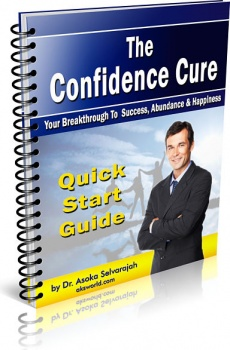 Ebook cover: The Confidence Cure