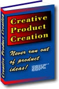 Ebook cover: Creative product creation