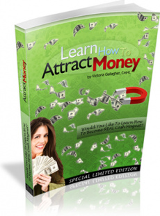 Ebook cover: Learn How to Attract Money
