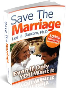 Ebook cover: Save the Marriage