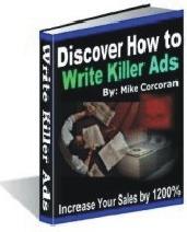 Ebook cover: Discover How To Write Killer Ads