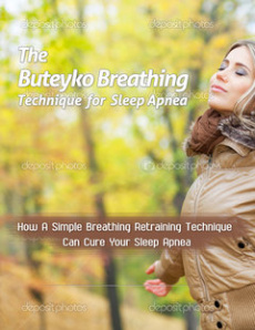Ebook cover: The Buteyko Breathing Technique For Sleep Apnea