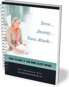 Ebook cover: Stress… Anxiety… Panic Attacks – How to Cope if You Have Sleep Apnea