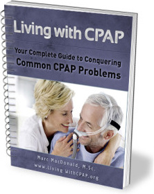 Ebook cover: Living with CPAP