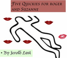 Ebook cover: Five Quickies for Roger and Suzanne