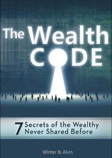 Ebook cover: The Wealth Code