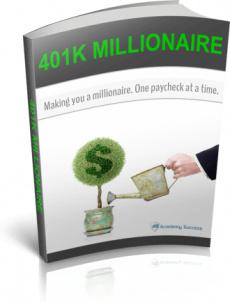 Ebook cover: 401k Millionaire
