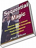Ebook cover: Sequential Magic