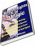 Ebook cover: Reprint Rights Magic