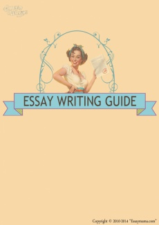 Ebook cover: Essaymama's Essay Writing Guide