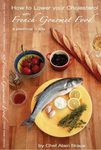 Ebook cover: How to Lower Your Cholesterol with French Gourmet Food