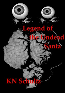 Ebook cover: Legend of the Undead Santa