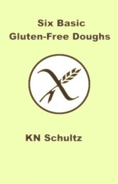 Ebook cover: Six Basic Gluten-Free Doughs