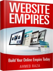 Ebook cover: Website Empires - Build Your Online Empire Today