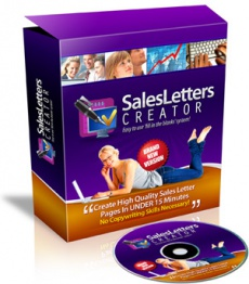 Ebook cover: Sales Letters Creator