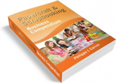 Ebook cover: Papercraft and Scrapbooking Business Compendium