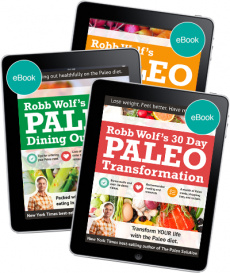 Ebook cover: The Paleo on a Budget Guide