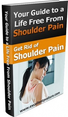 Ebook cover: Get Rid of Shoulder Pain