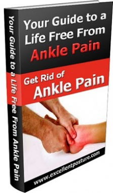 Ebook cover: Get Rid of Ankle Pain