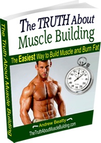 Ebook cover: The Truth About Muscle Building