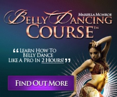Ebook cover: Belly Dancing Course