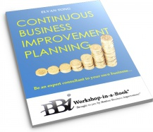 Ebook cover: Continuous Business Improvement Planning