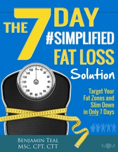 Ebook cover: 7-Day Simplified Fat Loss Solution