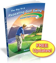 Ebook cover: The Key To A Repeating Golf Swing