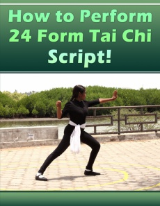 Ebook cover: How to Perform 24 Form Tai Chi