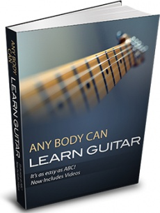 Ebook cover: ABC Learn Guitar
