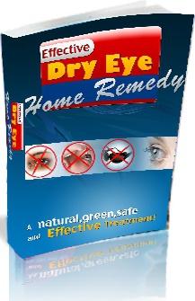 Ebook cover: Dry Eye Home Remedy