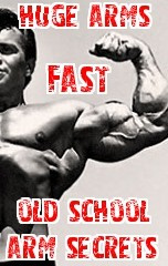 Ebook cover: Huge Arms Fast