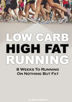 Ebook cover: Low Carb High Fat Running