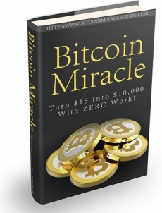 Ebook cover: Bitcoin Miracle