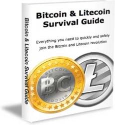 Ebook cover: Bitcoin and Litecoin Survival Guide