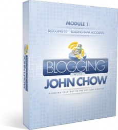 Ebook cover: Blogging With John Chow