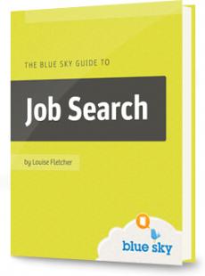 Ebook cover: Blue Sky Guide toJob Search