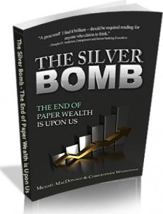 Ebook cover: The Silver Bomb