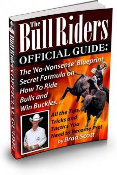 Ebook cover: The Bull Riders
