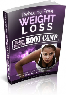Ebook cover: Rebound Free Weight Loss
