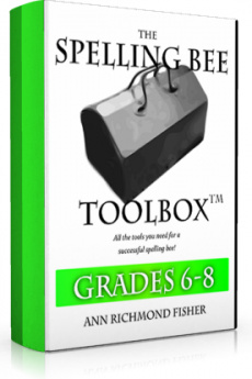 Ebook cover: The Spelling Bee Toolbox