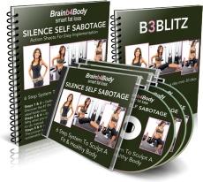 Ebook cover: Silence Self-Sabotage and Put Brain b4 Body