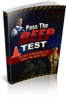Ebook cover: Pass The Beep Test